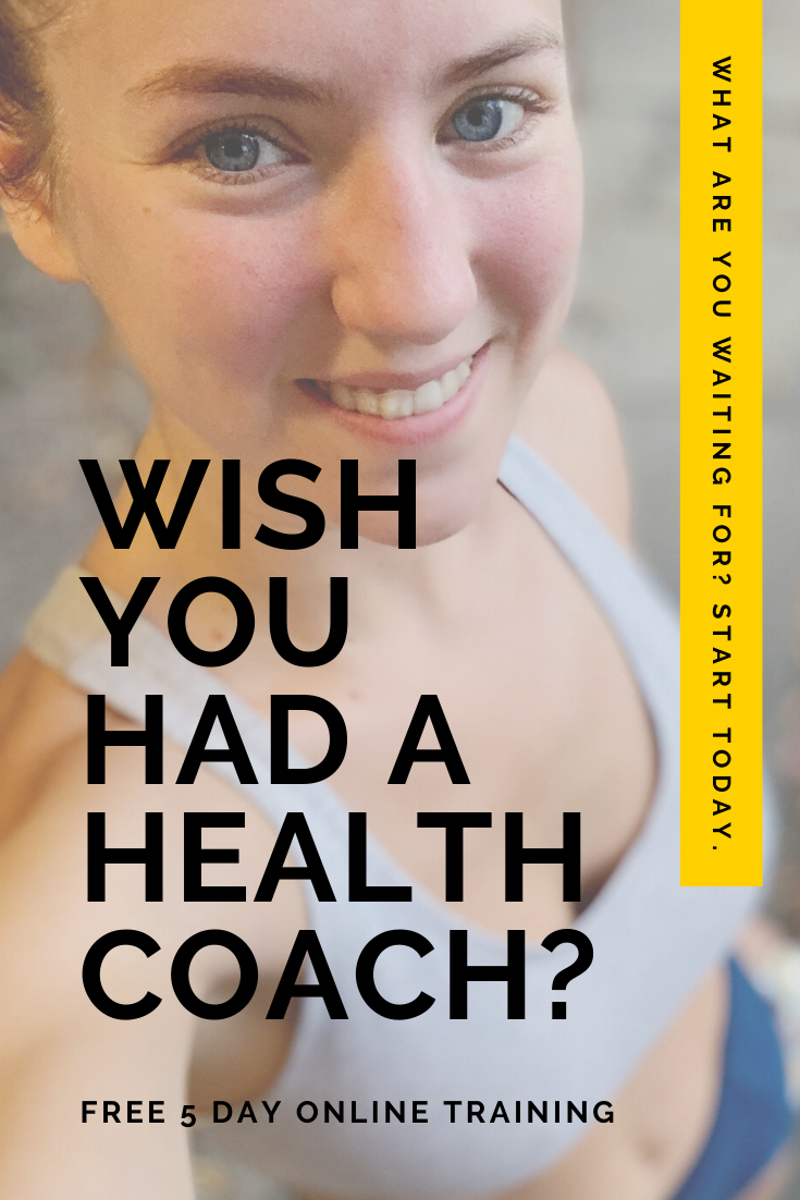Free 5 Part Health Coaching Series