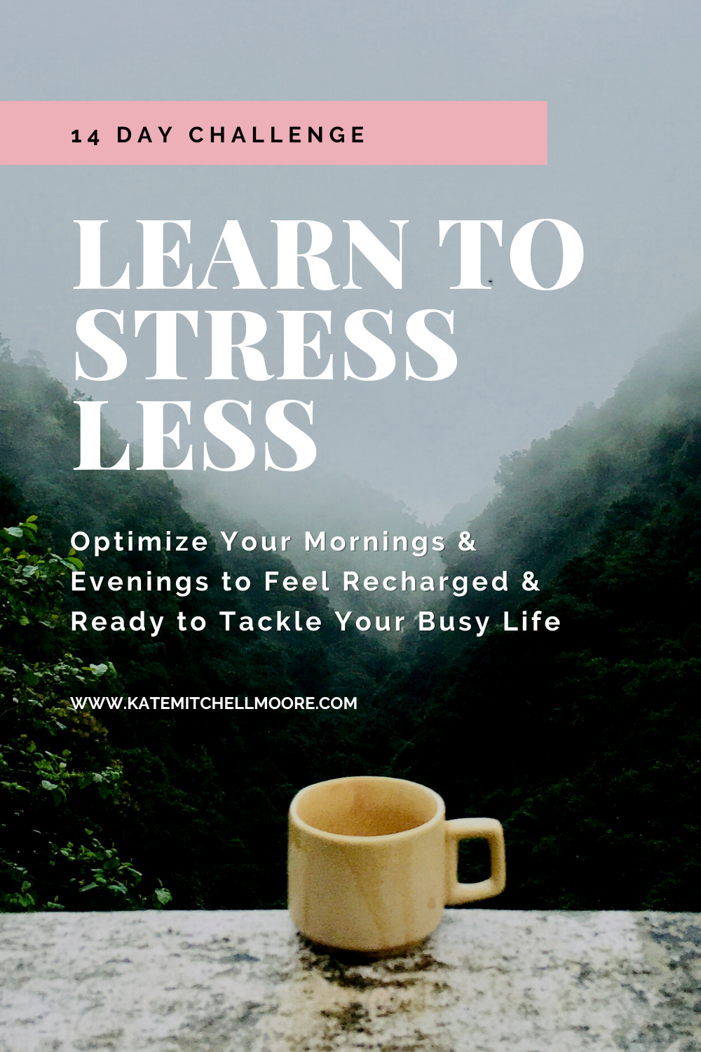 Join the 14-day Stress Less Challenge!